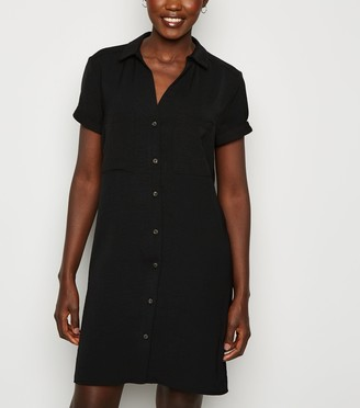 New Look Short Sleeve Shirt Dress