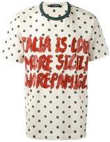 Dolce & Gabbana 'Italia' T-shirt