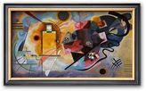 """Art.com Yellow, Red, Blue, 1925"""" Framed Art Print by Wassily Kandinsky"""