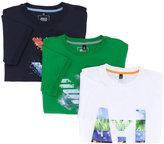 Armani Junior set of three printed T-shirts - kids - Cotton - 4 yrs