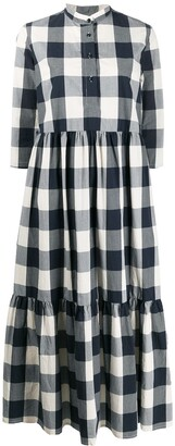 Woolrich check print dress