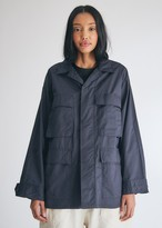 Engineered Garments Women's BDU Jacket in Navy, Size Extra Small | 100% Cotton