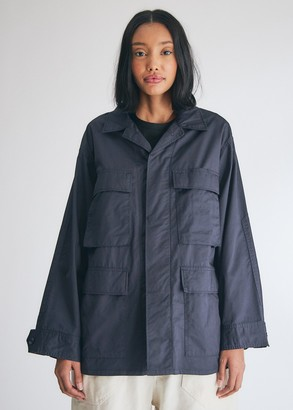 Engineered Garments Women's BDU Jacket in Navy, Size 2XS | 100% Cotton