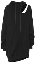 Unravel Cotton and cashmere hoodie