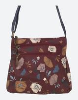 Fat Face Peony Floral Cross Body Bag