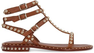 Ash Play Studded Leather Sandals