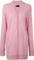 RtA distressed cardigan - women - Cashmere - XS