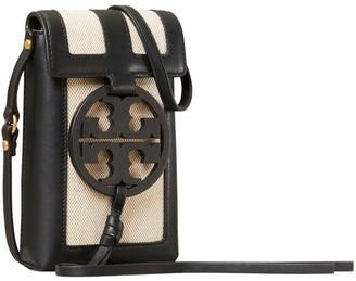 Tory Burch Miller Canvas Quadrant Phone Crossbody