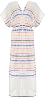 Lemlem Lelaga Pink Stripes Patio Maxi Dress