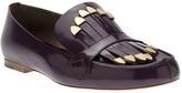 Chloé kilty loafer