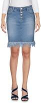 Sjyp Denim skirts - Item 42584672