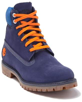 Timberland New York Knicks Plain Toe Boot (Men)