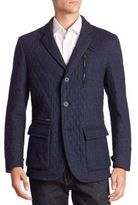 Etro Button-Down Quilted Sportcoat