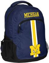 Forever Collectibles Michigan Wolverines Action Stripe Backpack