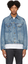 Diesel Blue Denim D-Bray Jacket