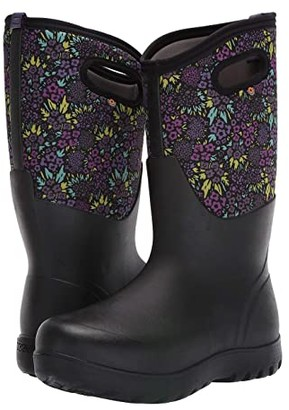 Bogs Neo-Classic NW Garden (Black Multi) Women's Rain Boots