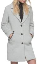 Andrew Marc Charlotte Wool Spread Top Coat