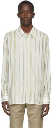 Joseph Off-White Paul Stripe Shirt