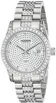 Akribos XXIV Men's AK486SS Diamond Quartz Bracelet Watch