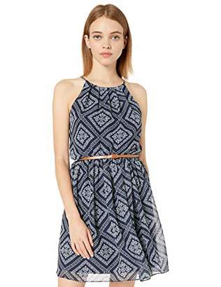 Amy Byer A. Byer Belted Casual Dress (Junior's)