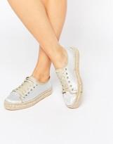 Park Lane Lace Up Espadrille Shoes