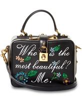 Dolce & Gabbana Dolce Soft embellished leather bag