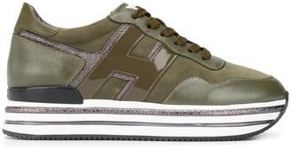 Hogan Striped Platform Sneakers