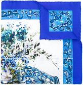 Dolce & Gabbana tile printed scarf