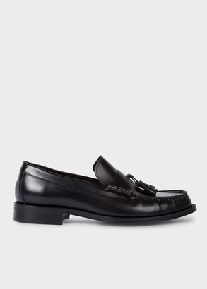 Paul Smith Men's Black 'Lewin' Leather Loafers
