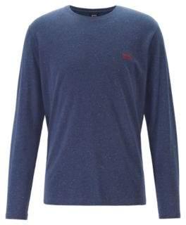 BOSS Regular-fit loungewear top in stretch cotton jersey