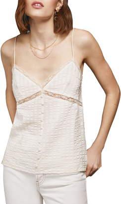Anine Bing Nadine Silk Blend Camisole