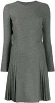 Ermanno Scervino stretch flannel dress