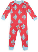 BedHead French Quarter Pajama Shirt & Pants, Pink/Blue, Size 2T-8