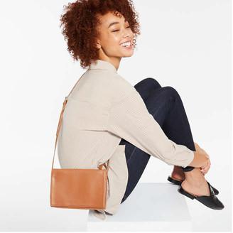 Joe Fresh Women's Crossbody Wallet, Brown (Size O/S)