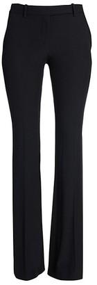 Alexander McQueen Narrow Bootcut Crepe Trousers