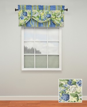 Waverly Floral Flourish Lined window valance