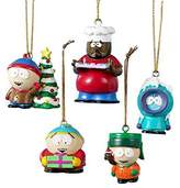 Kurt Adler South Park 5-Piece Resin Miniature Ornament Set