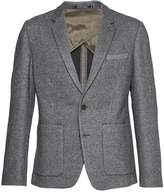 French Connection Men's Double Face Wool Jersey Blazer