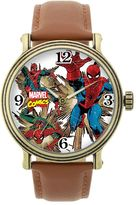 Spiderman Marvel Leather Watch