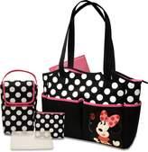 Disney Minnie 5-in-1 Diaper Tote Bag Set