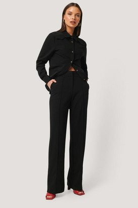 NA-KD Back Slit Suit Pants
