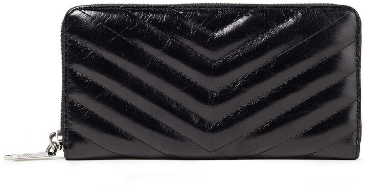 Rebecca Minkoff Quilted Leather Continental Wallet