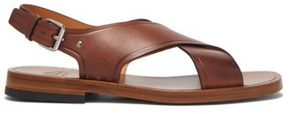 Church's Dainton Crossover Leather Sandals - Mens - Brown