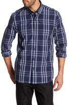 Peter Werth Bawden Plaid Trim Fit Shirt