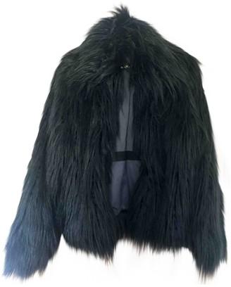 Zadig & Voltaire Fall Winter 2019 Black Faux fur Coats