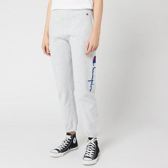Champion Women's Side Logo Cuff Pants