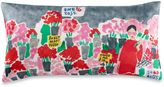 Kate Spade Flower Market Oblong Throw Pillow in Pink/Red