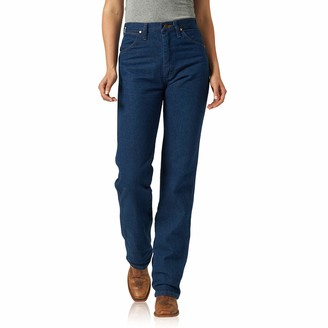 Wrangler Women's Cowboy Cut Slim Fit Natural Waist Jean