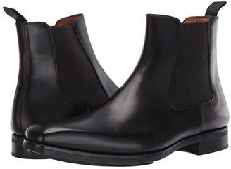 Magnanni Riley (Black) Men's Shoes