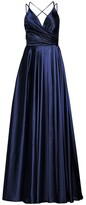 Faviana Charmeuse Pleated Ball Gown
